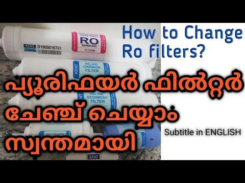 Water purifier filter change ll how to change ro water purifier membrane filter ll no technician req