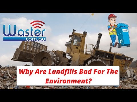 Why are landfills bad for the environment🌎?