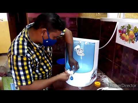 How to install dolphin ro water purifier machine in tamil