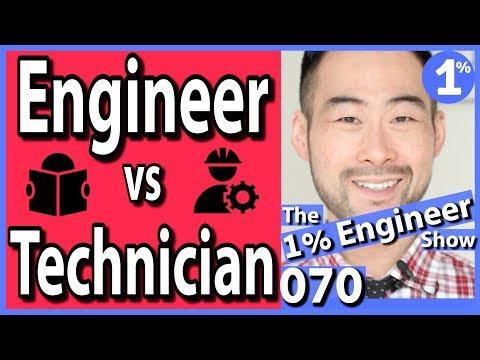 Engineering technician vs engineer   engineering technology vs engineering