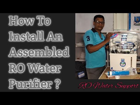 How to install an assembled ro water purifier ? | ro water support |
