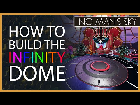 How to build the infinity dome | no man's sky building guide | tips & tricks with xaine's world nms