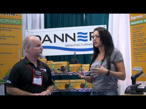 Danner pumps are proven and trusted in the hydroponic industry