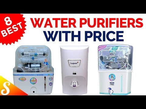 8 best water purifiers ro uv/uf in india with price | best selling water purifier 2018