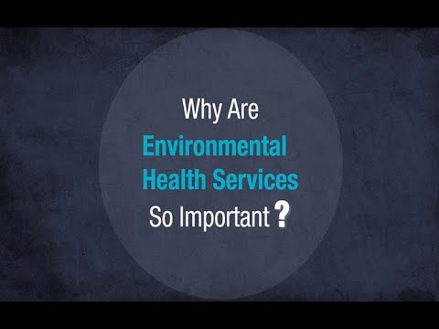 Why are environmental health services so important?