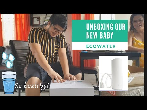 Ecosphere water purifier 💦   unboxing and installation  the best water purifier