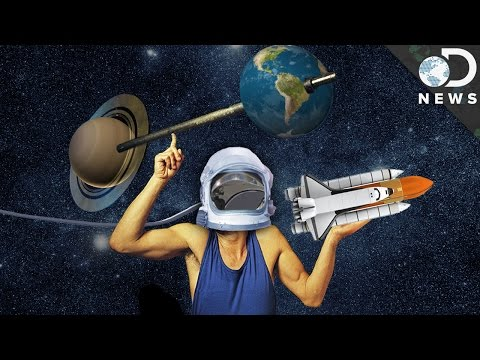 How astronauts exercise in space