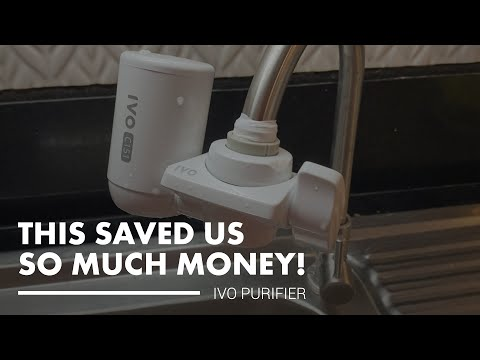 This water purifier saved us so much money - ivo water purifier