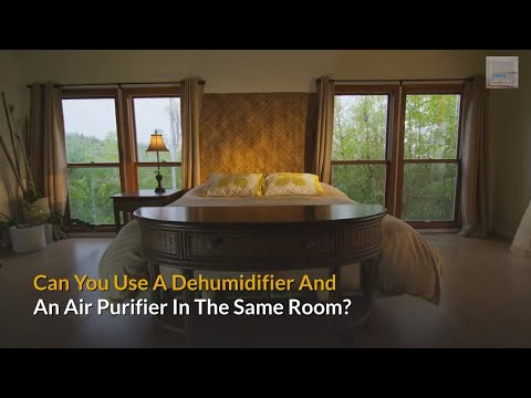 Can you use a dehumidifier and air purifier in the same room?