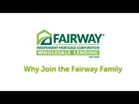 Why work for fairway wholesale lending?