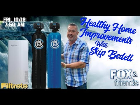 Clean water & air in your home with king water filtration & filtrete air purifier
