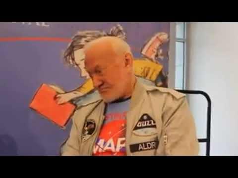 Buzz aldrin says we didn't go to the moon landing hoax fail space astronaut apollo 11 nasa