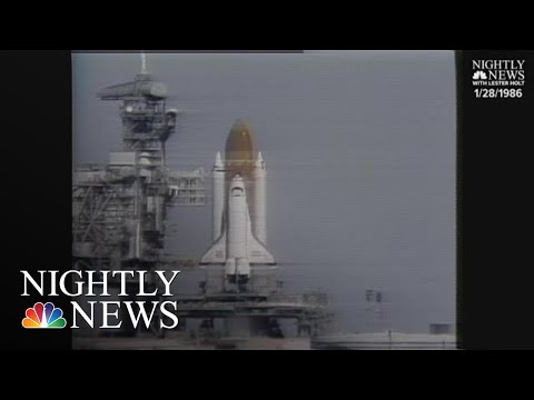 Archival: space shuttle challenger disaster   nbc nightly news