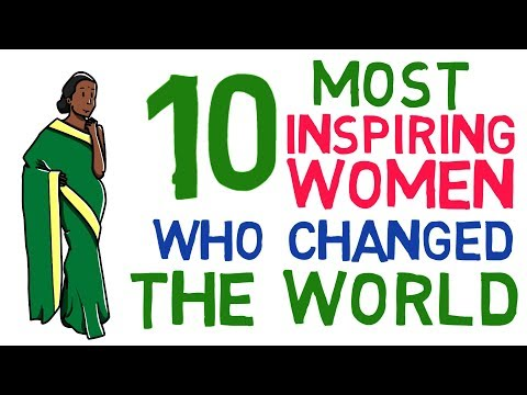 Top 10 most inspiring women in world who created history | great women in history